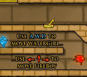 Hra - Fireboy and Watergirl 2