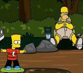 Hra - Bart Simpson Skateboarding