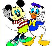 Hra - Mickey mouse omalovánka