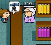 Hra - Obsluha v knižnici