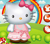 Hra - Hello Kitty obliekačka