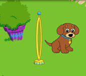 Hra - Dora cvičí šteniatko