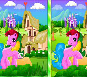 Hra - Pony Spot The Difference