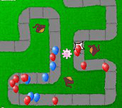 Hra - Bloons Tower Defense