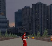 Hra - Skateboarding Santa