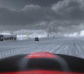 Hra - Ice Racing