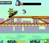 Hra - Swampy Motorboat Race