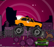 Hra - Monster truck zombies crusher