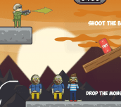 Hra - Balloons vs Zombies