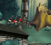 Hra - Motocross Forest Challeng