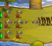 Hra - Fruit Zombie Defense