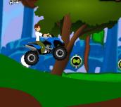 Hra - Ben 10 ATV Jungle Rush