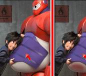 Hra - Big Hero 6 Difference