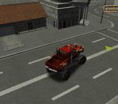 Hra - Monster Mission 3D Parking