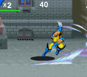 Hra - Wolverine Rampage
