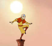 Hra - Avatar Aang On!