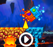 Hra - Fire And Water Geometry Dash