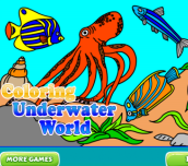 Hra - Coloring Underwater World