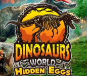Hra - Dinosaurs World Hidden Eggs