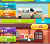 Hra - Burger Clicker
