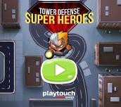 Hra - Tower Defense Super Heroes