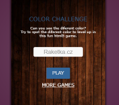 Hra - Color Challenge