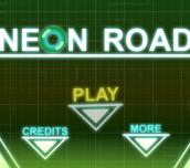 Hra - Neon Road