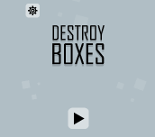 Hra - Destroy Boxes