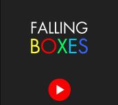 Hra - Falling Boxes