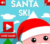Hra - Santa Ski