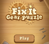 Hra - Fix It Gear Puzzle