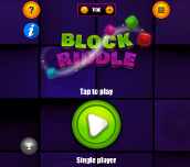 Hra - Block Riddle