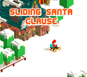 Hra - Sliding Santa Clause