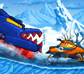 Hra - Cars Eats Car: Winter Adventure
