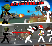 Hra - Stickman Maverick: Bad Boys Killer