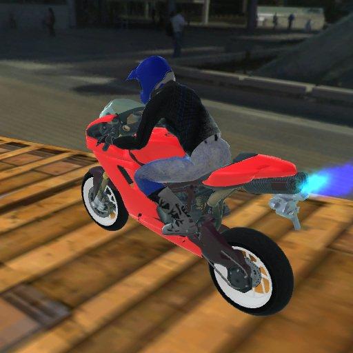 Hra - Extreme Bike Track