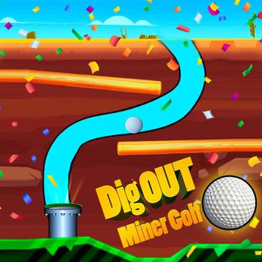 Hra - Dig Out Miner Golf