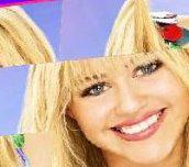 Hra - 3D Sliding Puzzle Hannah Montana