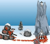 Hra - Yeti Sports: Bloody Penguin