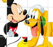 Hra - Mickey mouse skládačka