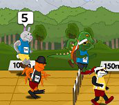 Hra - Animal RaceWay