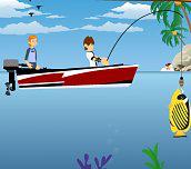Hra - Ben 10 fishing
