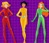 Hra - Totally spies obliekačka