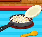 Hra - Domáci karamelový popcorn