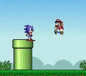 Hra - Sonic Lost in Mario World