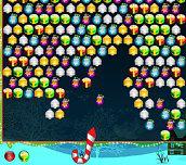 Hra - Bubble Hit Christmas