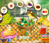 Hra - Summer Food Table Decoration