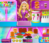 Hra - Rapunzel Fun Cafe