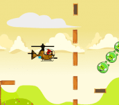 Hra - Angry Birds Hero Helicopter
