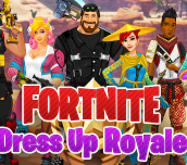 Hra - Fortnite Dress Up Royale